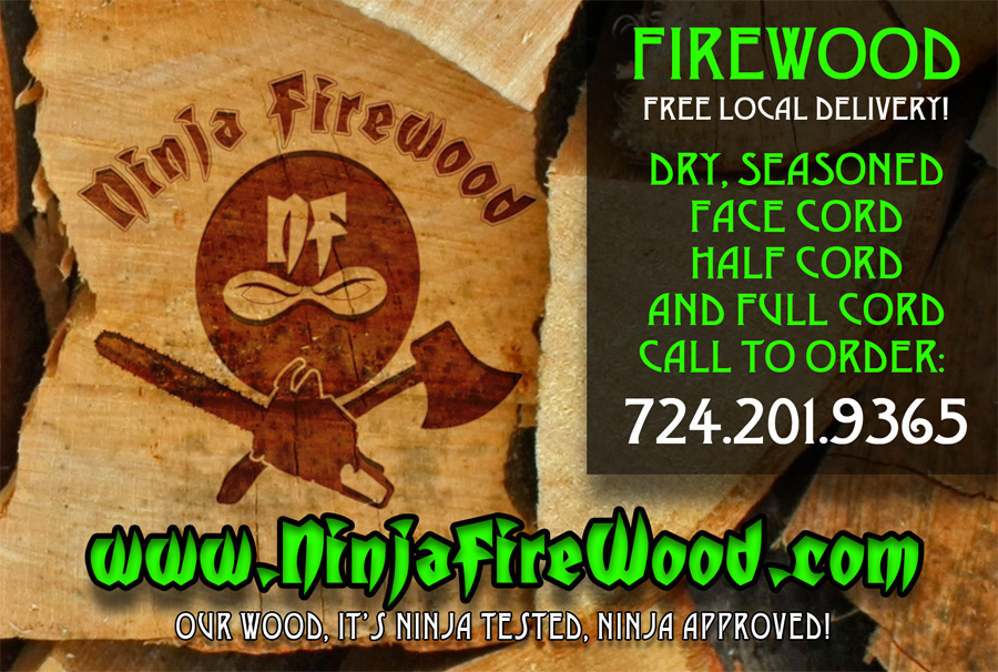Firewood for Sale & Delivery in Pennsylvania / Ohio - Ninja Firewood!