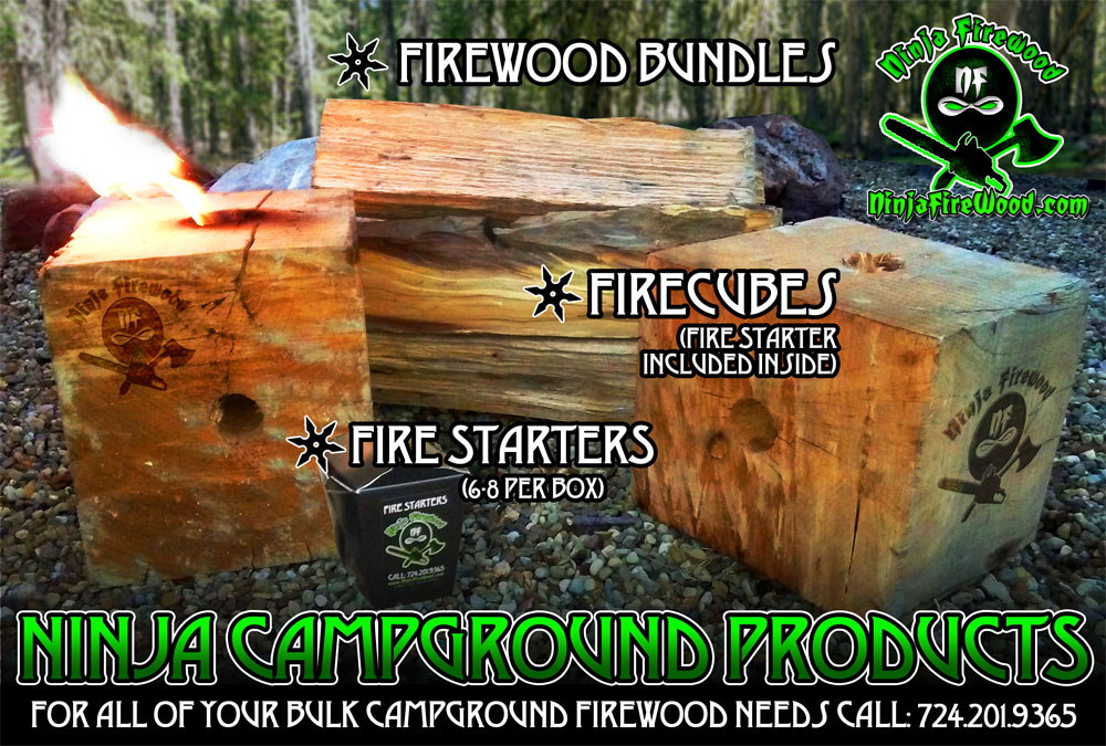 Campground firewood bundles products